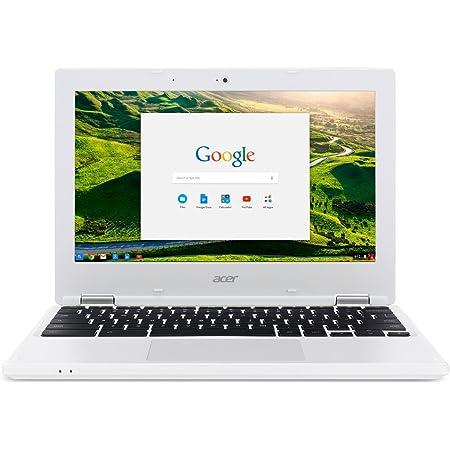 Acer Chromebook CB3-131-C3SZ クロームブック/ 11.6inch HD (1366x768) / Intel Celeron N2840 (Dual-Core Processor) / 2GB RAM (DDR3L) / 16GB Solid State Drive (eMMC) / Chrome OS/ White [並行輸入品]