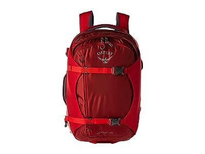 Osprey Porter 46 (Diablo Red) Backpack Bags