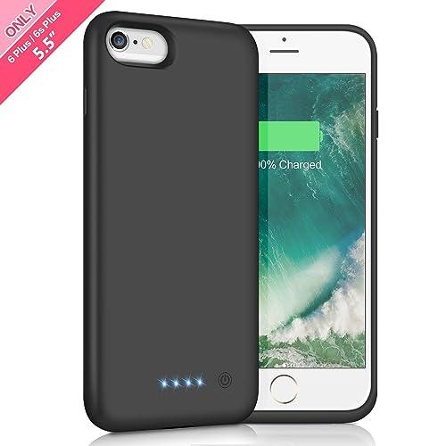 quality design 14d09 e2fda Battery Case for iPhone 6 Plus: Amazon.com