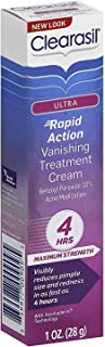Clearasil Ultra Rapid Action Vanishing Treatment Cream, 1 oz. (Pack of 3)