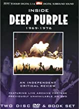 Inside Deep Purple 1969-1976 a Critical Review With Book 2pc