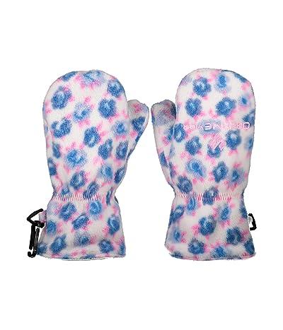 Obermeyer Kids Finley Fleece Mitten (Toddler/Little Kids) (Roselet Blue) Extreme Cold Weather Gloves