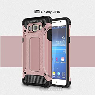 Cocomii Commando Armor Galaxy J5 2016 Case New [Heavy Duty] Premium Tactical Grip Dustproof Shockproof Bumper [Military Defender] Full Body Rugged Cover for Samsung Galaxy J5 2016 (C.Rose Gold)