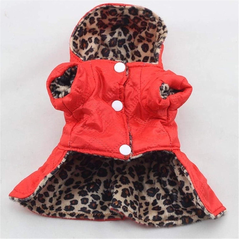 Albuquerque Mall Pet wholesale Dogs Leopard Dress Tops Clot Hoodie Cotton Clothes Puppy