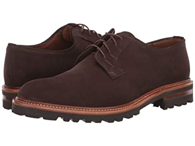 Aquatalia Leon (Dark Brown Suede) Men