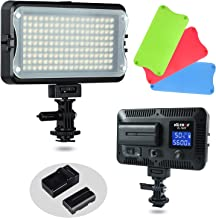 VILTROX VL-162T CRI95+ LED Video Light, Portable Camera Photo Light Panel Dimmable for..