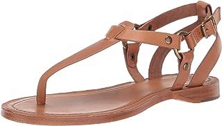 FRYE RACHEL RING T STRAP womens Flat Sandal