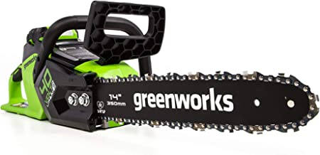 Greenworks CS40L01 14-Inch 40V Cordless Chainsaw