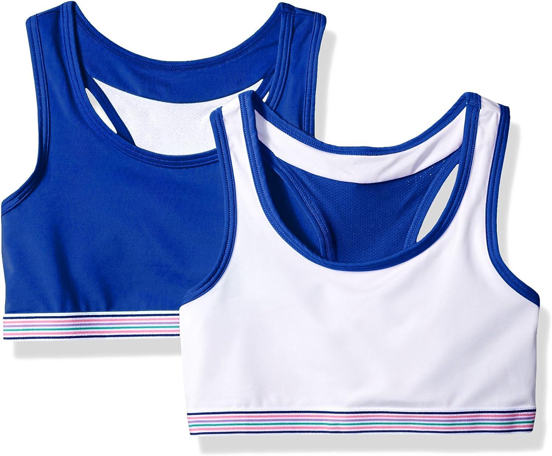 Hanes Girls Boys Comfort Flex Fit Wide Strap Seamless Racerback 2-Pack