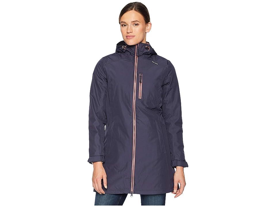 Helly Hansen Long Belfast Winter Jacket (Graphite Blue) Girl