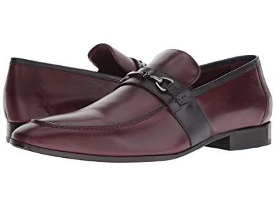 Massimo Matteo Slip-On Bit Classic 18 (Bordo/Marinho) Men