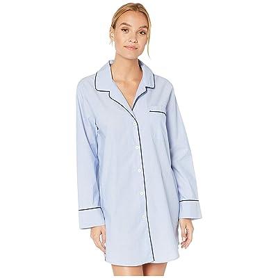 J.Crew Nightshirt in End on End Cotton (Hydrangea) Women
