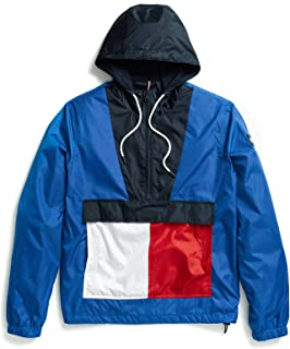 Tommy Hilfiger Adaptive Mens 78D6060 Jacket with Extended Zipper Pull Jacket - Blue