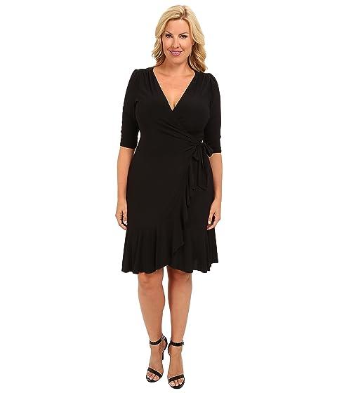 Kiyonna Whimsy Wrap Dress At Zappos