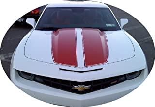 Avery Camaro Rally Racing Stripes RED Gloss Decal Vinyl Fits 2010+