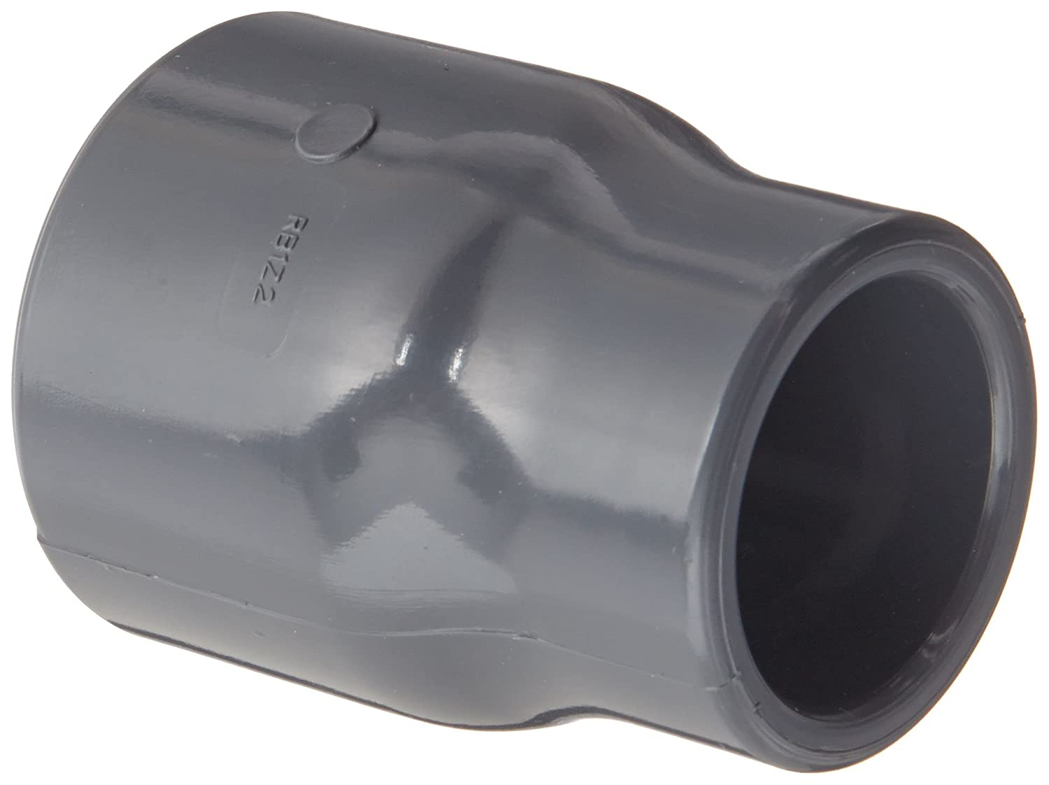 Gray Spears 429-G Series PVC Pipe Fitting Coupling Schedule 40 2 x 1-1//2 Socket