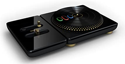 PS3 DJ Hero RENEGADE (Glossy Black) Turntable Limited Edition