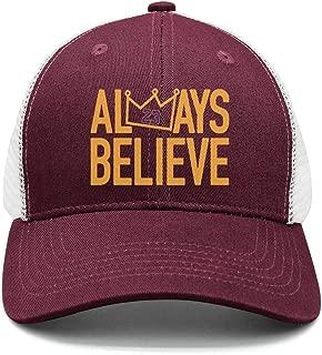 Men&Women Always Believe La-Bron Cricket Cap 3D Printing Snapback Hats