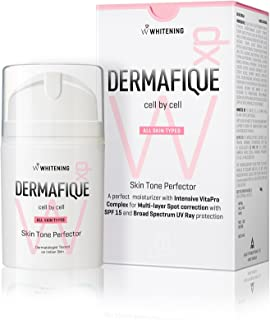 Dermafique Skin Tone Perfector, White, 50g