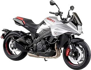 スカイネット 1/12 完成品バイク スズキ GSX-S1000S KATANA フルオプション メタリックミスティックシルバー