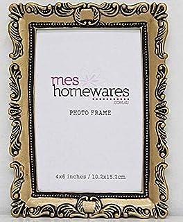 Mes Homewares Victoria Ornate Antique Photo Frame