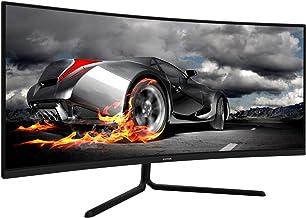 VIOTEK GNV34CB 34-Inch Ultrawide Curved Gaming Monitor | 1080P 100Hz 21:9 | Ultra-Bright VA Panel w/Dynamic Color + FreeSy...