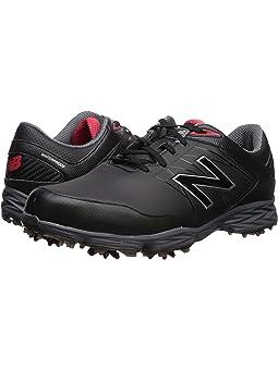 뉴발란스 남성 골프화 New Balance Golf Striker,Black/Red