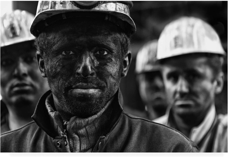 Trademark Fine Art Coal Mine Workers 3 by Yavuz Sariyildiz, 12x19
