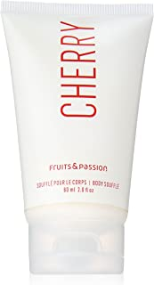 Fruits and Passion Body Souffl, Travel Size, Cherry, 2 Ounce (Pack of 2)