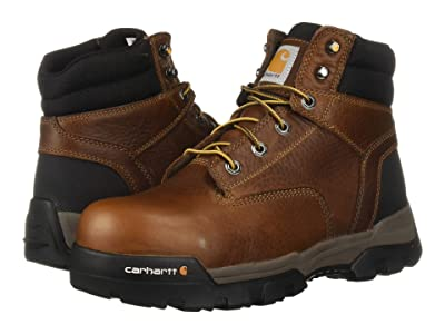 Carhartt Ground Force 6 Composite Toe (Peanut Oil Tan Leather) Men