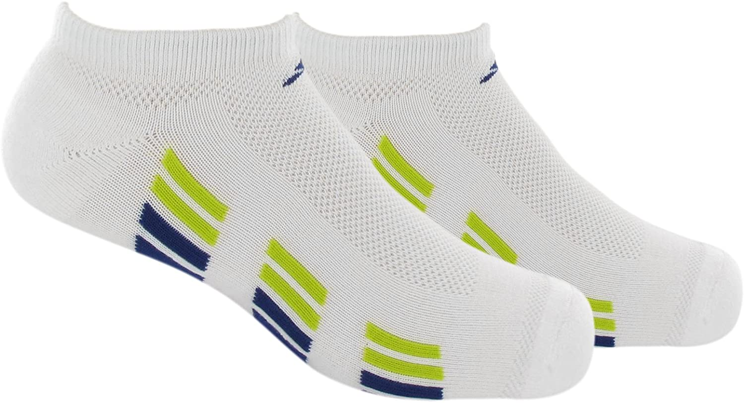 adidas Boy's Youth Climacool X- No-Show Sock (Pack of 2)