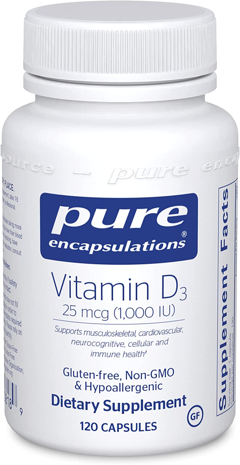 Pure Encapsulations Vitamin D3 25 mcg IU Supplement Las Vegas Mall 000 1 Don't miss the campaign to