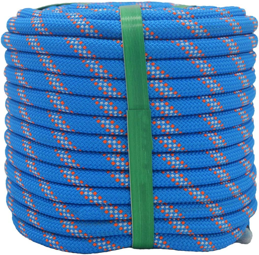 YUZENET Braided Bombing free shipping Los Angeles Mall Polyester Arborist Rigging Rope 8