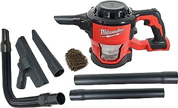 Milwaukee 0882-20 Filter M18 18V Cordless Lithium-ion Compact Vacuum, Hand Held 40 CFM (Complete Set) w/Bonus: Premium Microfiber Cleaner Bundle