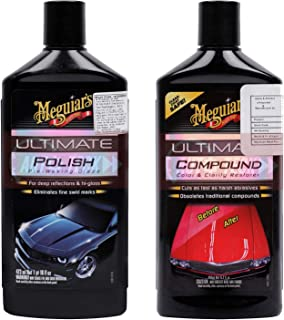 Meguiar's Ultimate Compound (450 ML) and Ultimate Polish (473 ML)