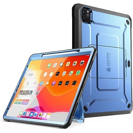 Supcase Hülle Für Ipad Pro 12 9 Zoll 2020 Bumper Case 360 Grad Schutzhülle Support Apple Pencil Laden Unicorn Beetle Pro Mit Displayschutz Blau Elektronik