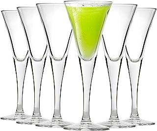 Bormioli Rocco Fiore Sherry Grappa Liqueur Glasses Set - 55ml - Pack of 6