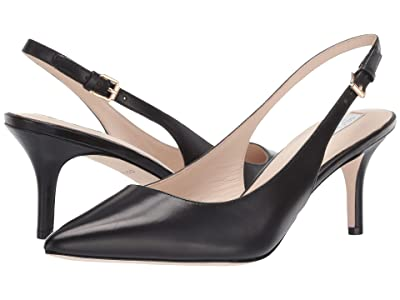 Cole Haan 65 mm Vesta Slingback (Black Leather) Women