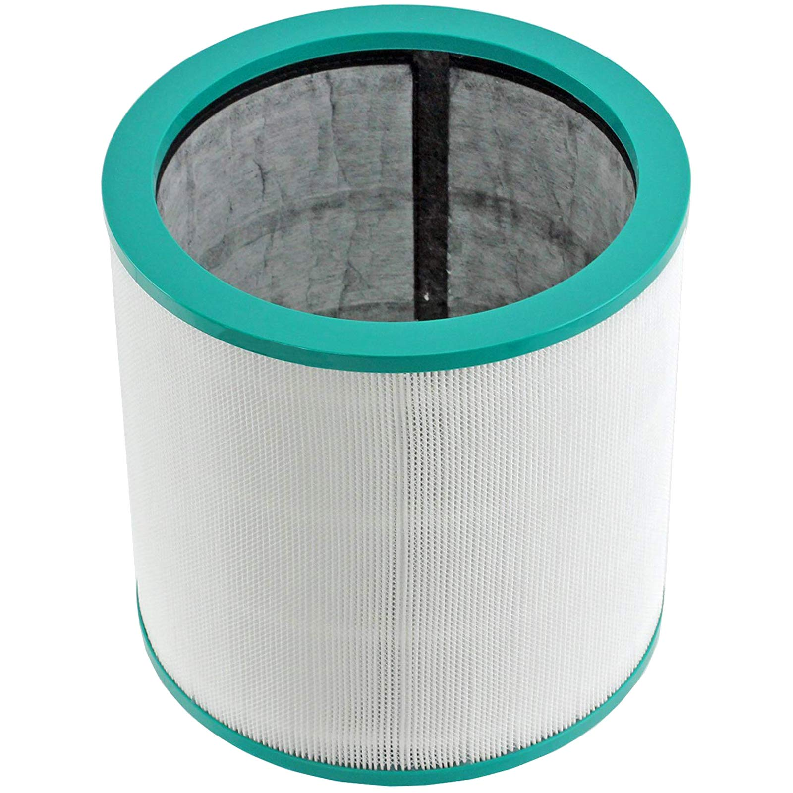 SPARES2GO 360° Glass Hepa Filter Compatible with Dyson Pure Cool Link Tower Air Purifier