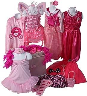 Making Believe Girls Ultimate Pink Princess Dress up Trunk (Choose Size)
