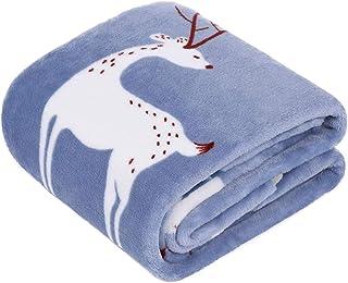 TILLYOU ALL-SEASON Flannel Fleece Baby Blanket for Boys, Ultra Soft Plush Bebe Blanket for Toddler Bed, Crib, Sofa - Therm...