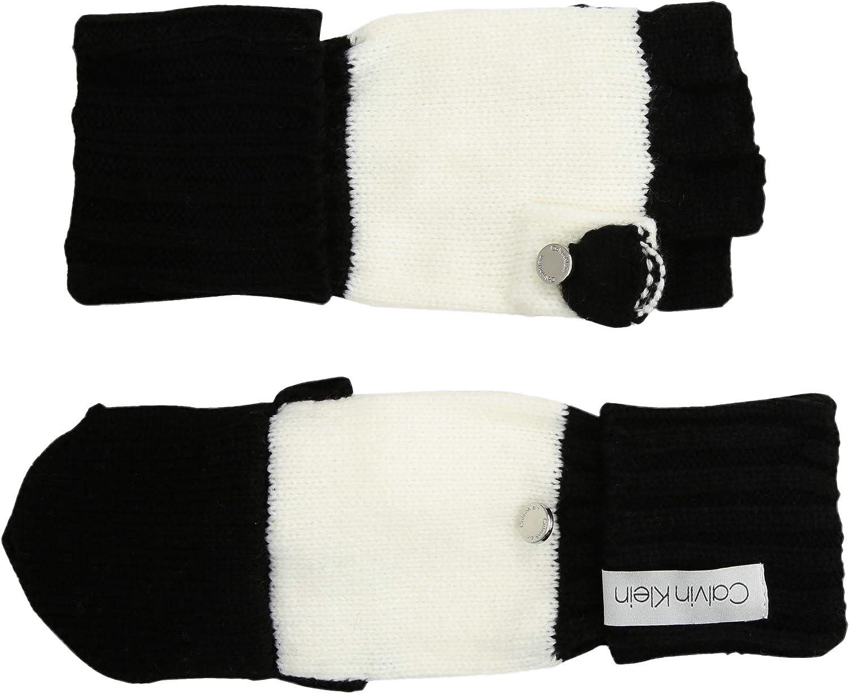 Calvin Klein womens Ft 2tone Knit Glove
