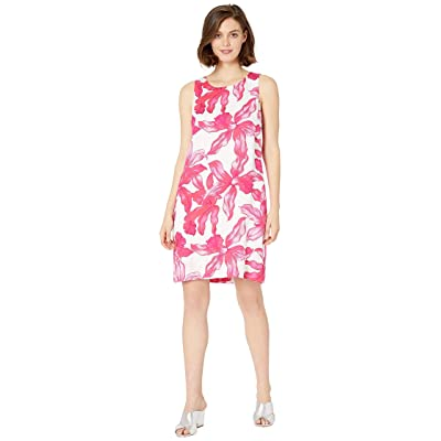 Tommy Bahama Orchid Rua Shift Dress (White) Women