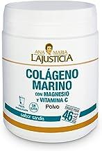 Ana Maria Lajusticia - Colágeno marino con magnesio y VIT C – 350 g (sabor sandia). Articulaciones fuertes y piel tersa. Regenerador de tejidos con colageno hidrolizado tipo 1 y 2. Envase para 46 días