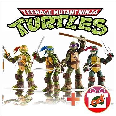 4 PCS Set Ninja Turtles Set – Teenage Turtles Action Figure - Action Figures - Ninja Turtles Toy Set - Ninja Turtles Action Figures Mutant Teenage Set