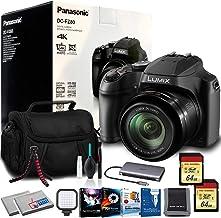 Panasonic Lumix DC-FZ80 Digital Camera (Open Box) with LED, Software, and More