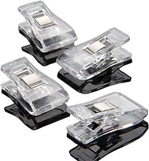 50個入り クリップ 縫製道具 多機能 工芸品 プラスチック製 透明