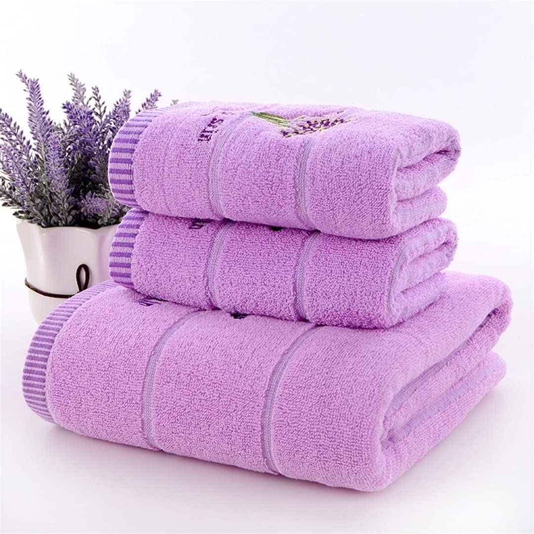 DFLYHLH 3 Pieces Bath Towels Thick Set Adults Cheap Phoenix Mall mail order specialty store Towel Face Cotton