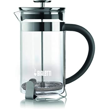 Bialetti, 06706, Stainless Steel Coffee Press , 8 cups , 34 oz , tea, coffee, coldbrew, silver