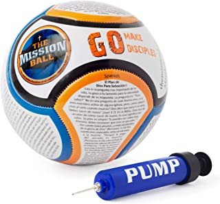 Soccer Ball - Biblical Gospel Sharing Tool Using The World's Most Popular Sport to Explain Christ - Perfect for Mission Trips, Shoeboxes, VBS, and Gifts (Spanish)